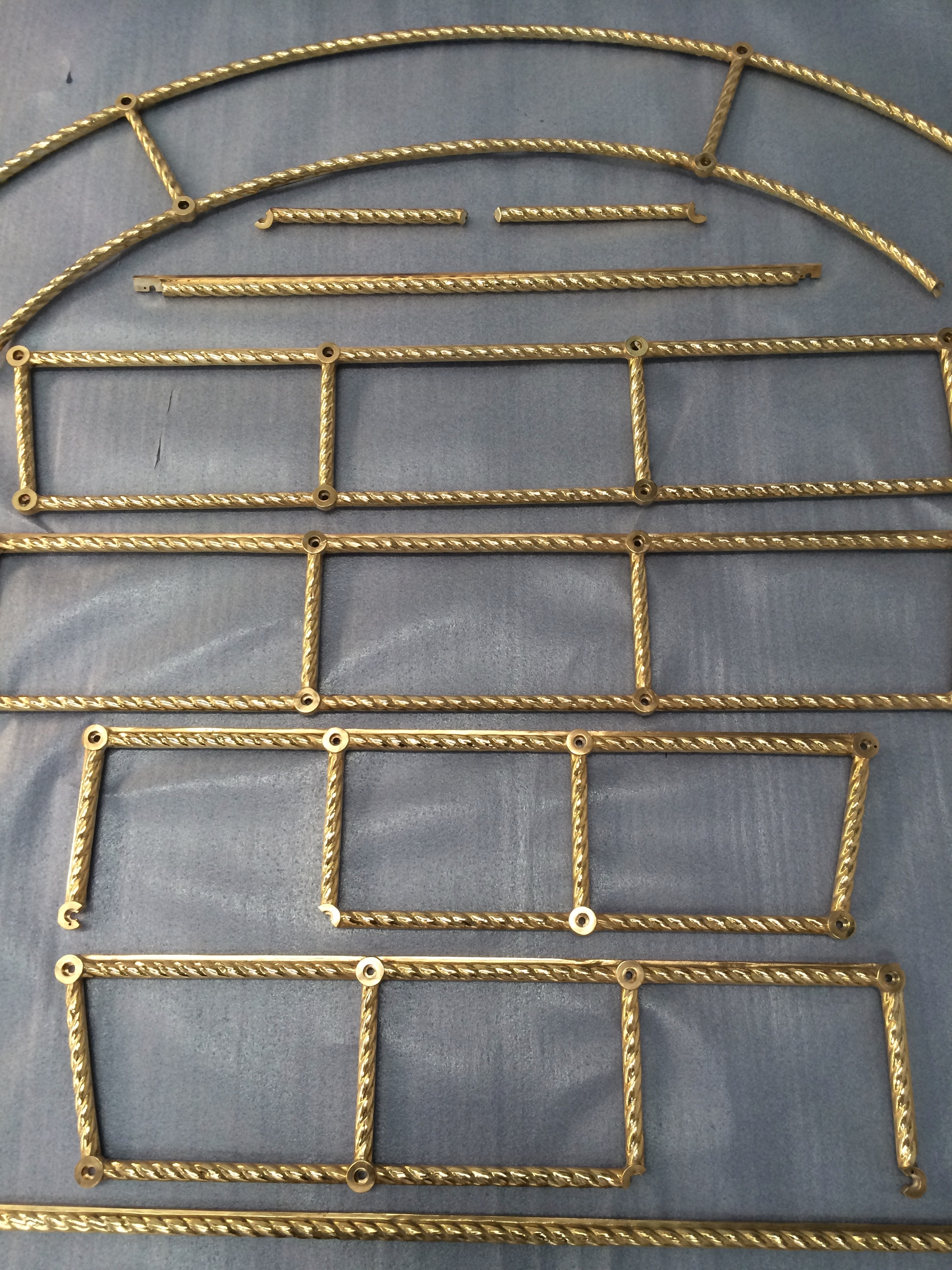 gold plating mirror frames