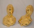 24k gold plated bath feet