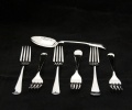 silver plating of cutlery