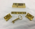 gold plating keys and locks