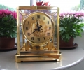 24k gold plating on a carriage clock