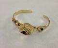 24k gold plated bracelet