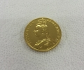 gold plating coins