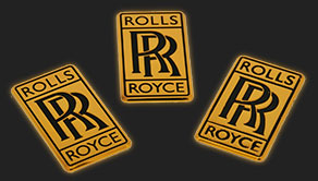 gold plating car emblems